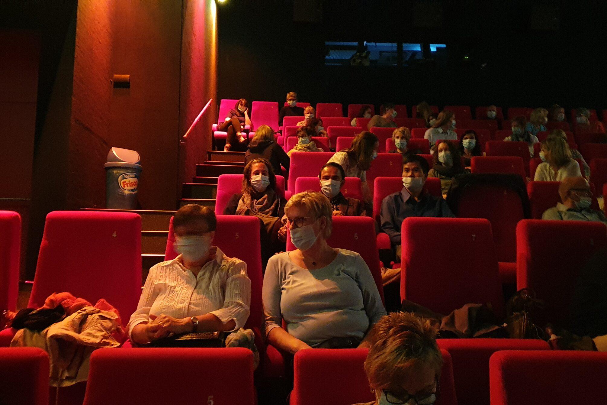 Kinopremiere mit den Protagonisten